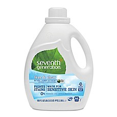 image of Seventh Generation™ 100 Oz. 2X Natural Laundry Detergent in Free and Clear