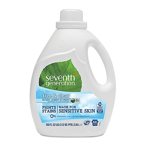 Seventh Generation 100 Oz 2x Natural Laundry Detergent