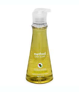 Method®Jabón para vajilla, aroma limón-menta de 532 mL (18 oz)