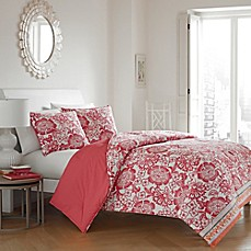 image of City Loft™ Emlyn Duvet Cover Set in Coral
