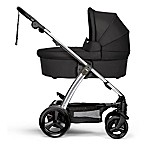 image of Mama & Papas Sola2 Stroller in Black with Bassinett