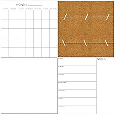image of WallPops!® Dry-Erase Message Center Organization Kit