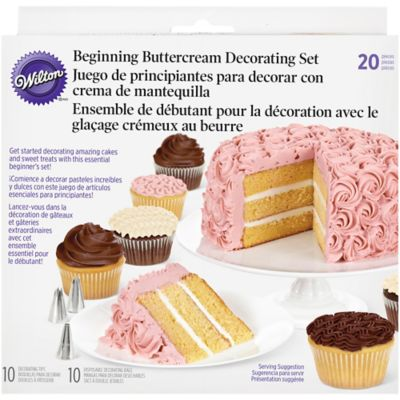 Cake Decorating Kit Bed Bath Beyond : Wilton 20-Piece Beginning Buttercream Cake Decorating Set ...