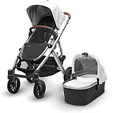 image of UPPAbaby® VISTA 2017 Stroller with Leather Handles in Loic
