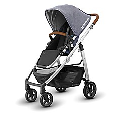image of UPPAbaby® CRUZ 2018 Stroller with Leather Handles in Gregory