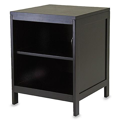 Image Of Bedford 2 Shelf Espresso Bookcase