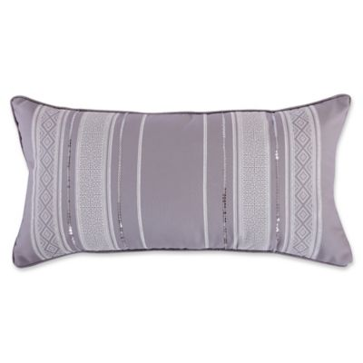 Grey Sequin Throw Pillow : Levtex Home Massana Screenprint Sequin Throw Pillow in Grey - Bed Bath & Beyond