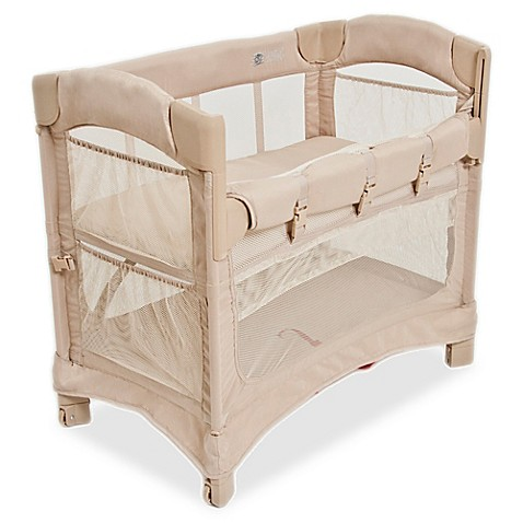 Arm's Reach® Mini Ezee™ 2-in-1 Co-Sleeper® in Toffee