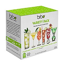 image of Bibo® Cocktail Pouch Variety Pack (Pack of 12)