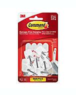 Ganchos de alambre  3M Command™, chicos, Set de 9