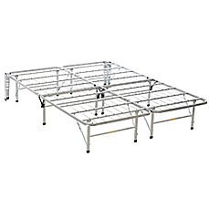 image of Beautyrest® Bedder Base Bed Frame in Silver