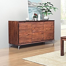 Image Of Zuo® Perth Buffet In Chestnut