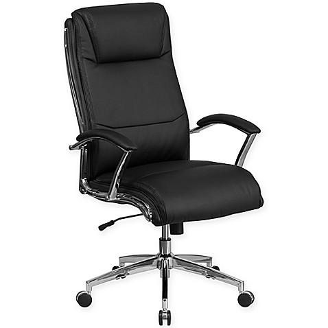 Flash Furniture High Back Faux Leather Executive Swivel