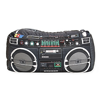 Image Of Wow Works Boombox Beanbag Chair In Black