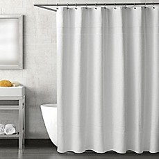 Genial Haven Serenity Shower Curtain In White