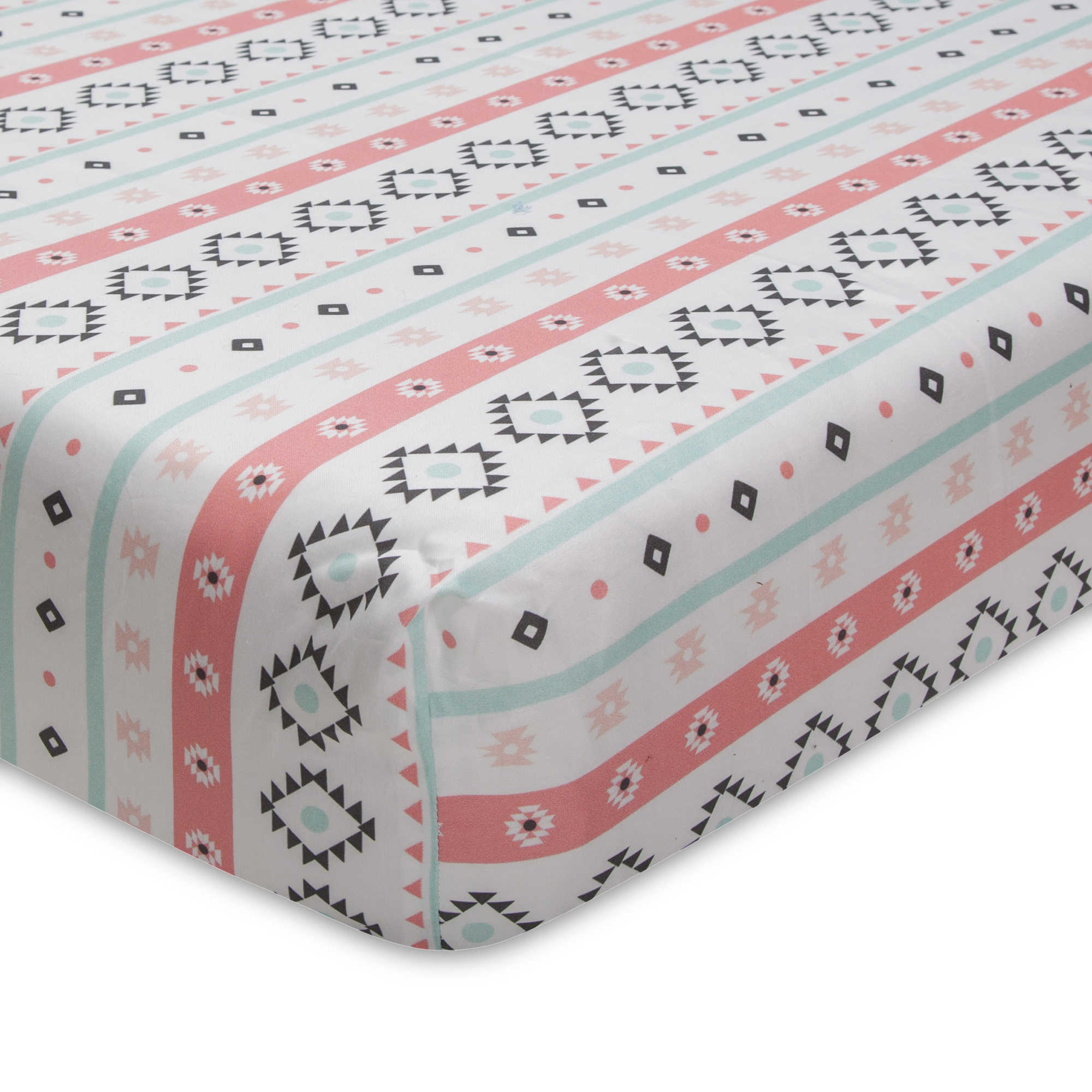 bedding fitted baby crib set jack products only theme aqua air sheet coral bold skirt hot cribs balloon bumperless