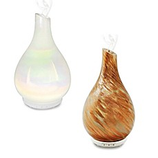 image of AromaSource® Bliss™ Diffuser Opalescent Glass Diffuser