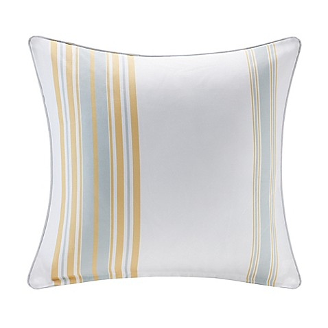Buy Madison Park Newport 14-Inch x 20-Inch Oblong Outdoor Throw Pillow in Navy from Bed Bath ...