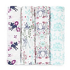image of aden® Disney by aden + anais® 4-Pack Bambi Muslin Swaddle Blankets