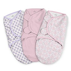 image of SwaddleMe® 3-Pack Large You're Mine Adeline Original Swaddles in Pink