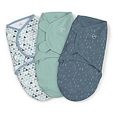 image of SwaddleMe® 3-Pack Large Mountaineer Boy Original Swaddles in Green
