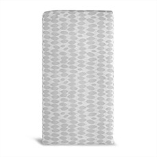 image of Lullaby Earth® Healthy Support Crib Mattress in White/Grey