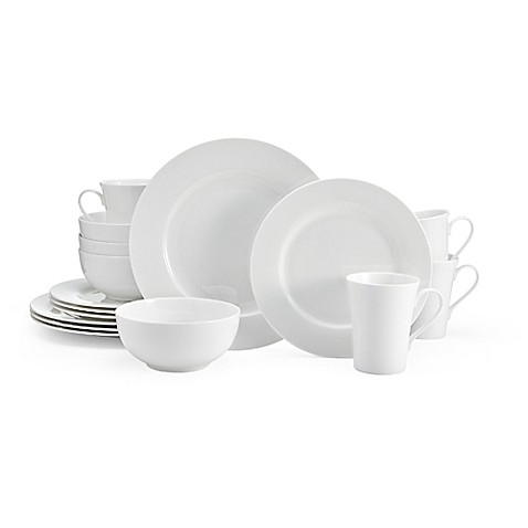 White Dinnerware, Porcelain Dinnerware Sets | Bed Bath & Beyond