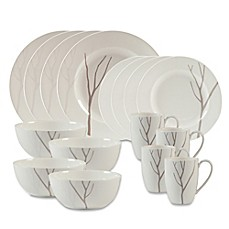 Lenox® Park City™ 16-Piece Dinnerware Set  sc 1 st  Bed Bath \u0026 Beyond : square stoneware dinnerware sets - pezcame.com