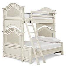 image of smartstuff™ Gabrielle Twin-Over-Full Bunk Bed in Cream