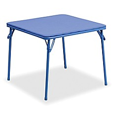 Charmant Flash Furniture Kids Folding Table In Blue