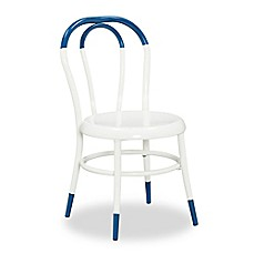 image of Ace Casual Furniture Ellie™ Kids Bistro 2-Piece Chairs Set in White/Indigo