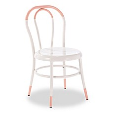 image of Ace Casual Furniture Ellie™ Kids Bistro 2-Piece Chairs Set in White/Soft Pink