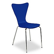 image of Legare® Bent Plywood Chair in Blue