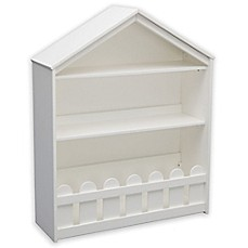 image of Serta Happy Home Storage Bookcase in White