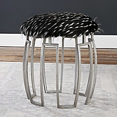 image of Uttermost Zeal Bench in Silver/Black