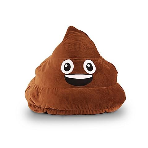 GoMojitrade Poop Emoji Bean Bag