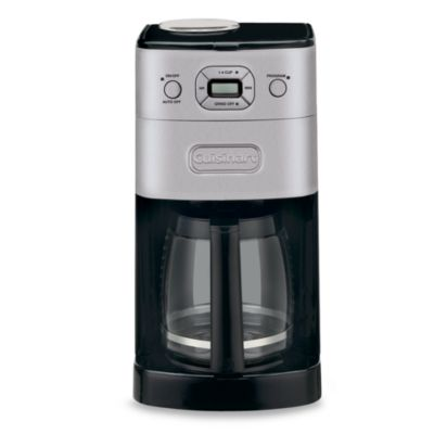 Coffee Maker Cuisinart Brew And Grind : Cuisinart Grind & Brew 12-Cup Automatic Coffee Maker - Bed Bath & Beyond