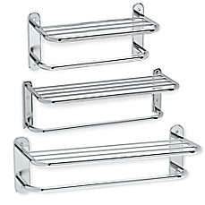 image of Gatco® Metal Spa Rack with Towel Bar Collection in Chrome