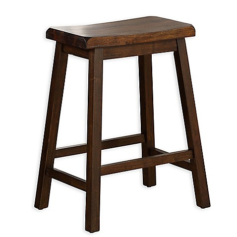 Buy Acacia 24 Inch Bar Stool In Oak From Bed Bath Amp Beyond