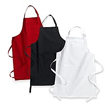 kitchen aprons for hostess, bride & groom - bed bath & beyond