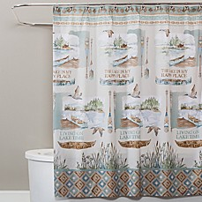 Saturday Knight Lake House Shower Curtain
