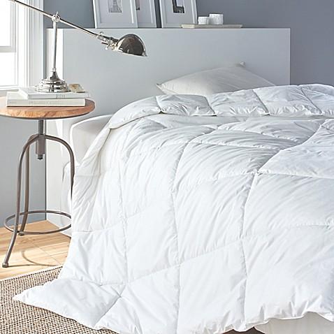 Dkny down alternative comforter in white bed bath beyond - Home design down alternative comforter ...