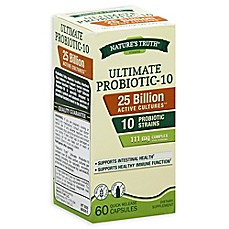 image of Nature's Truth® 60-Count Ultimate Probiotic-10 25 Billion Capsules