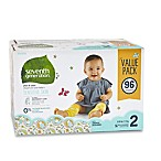 image of Seventh Generation™ 96-Count Size 2 Free & Clear Diapers