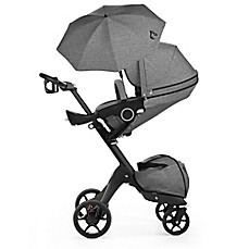image of Stokke® Xplory® Stroller in Black Melange