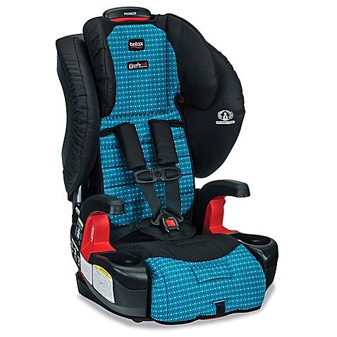 buy britax pioneer g1 1 xe series harness 2 booster seat with mat and shades in oasis from bed. Black Bedroom Furniture Sets. Home Design Ideas