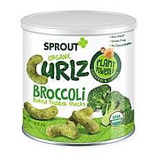 image of Sprout® 1.48 oz. Broccoli Organic Curlz™ Baked Toddler Snack