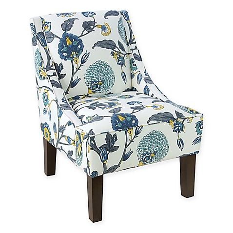 Skyline Furniture Dorie Accent Chair in Auretta Peacock  sc 1 st  Bed Bath u0026 Beyond & Skyline Furniture Dorie Accent Chair in Auretta Peacock - Bed Bath ...