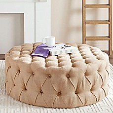 image of safavieh charlene tufted ottoman