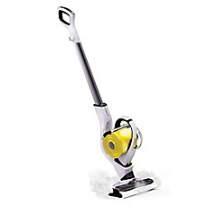 Image Of Nugeni Steam+ Floor/Handheld Steam Cleaner In White